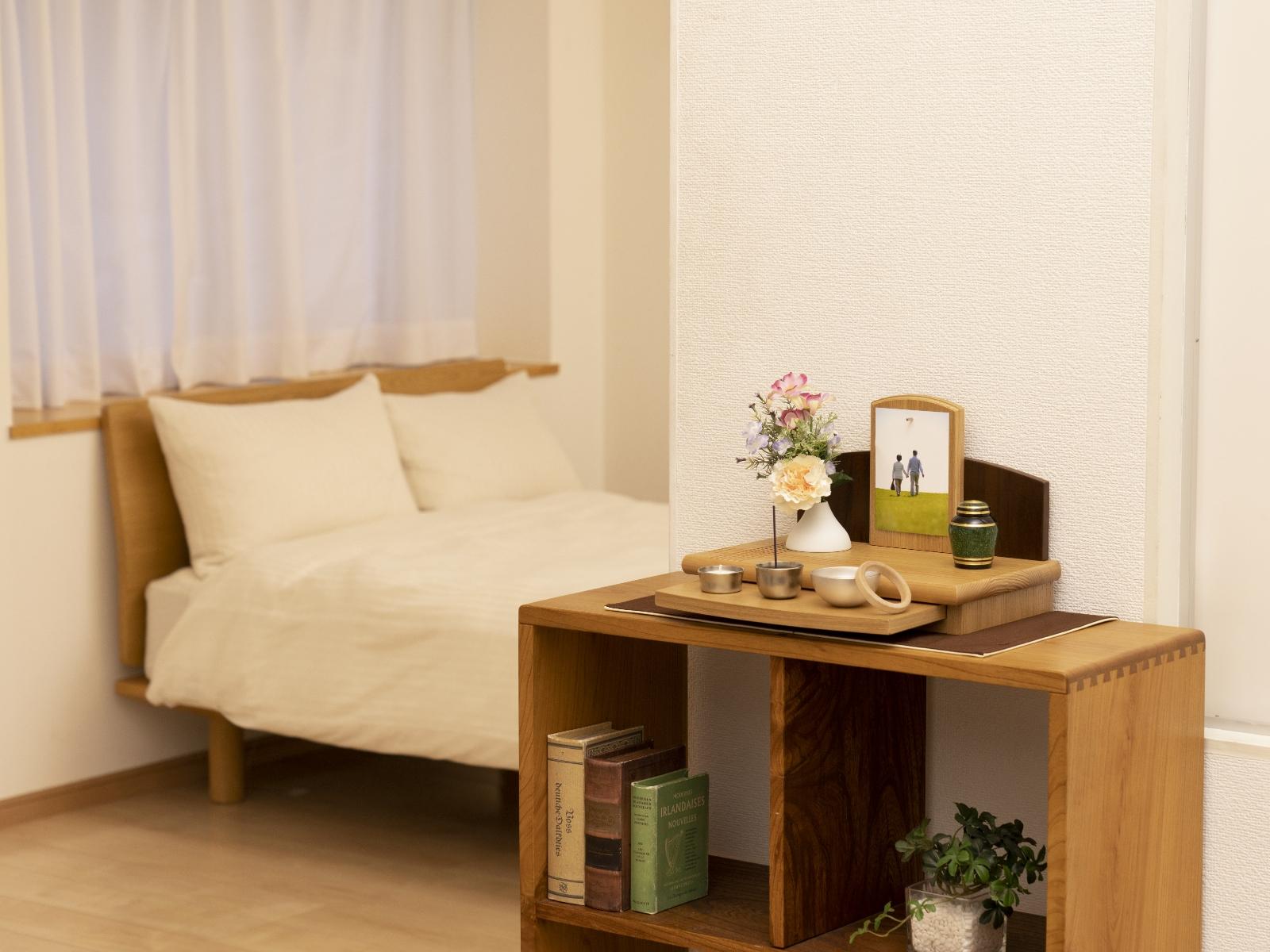 寝室に置く祈り壇